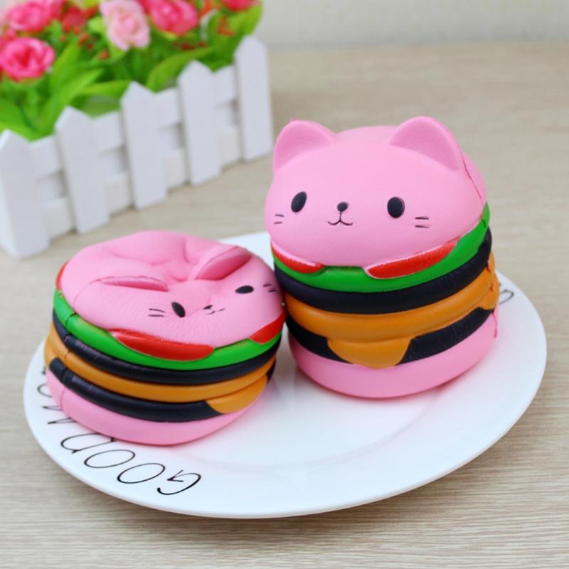 Сквиши Гамбургер кот