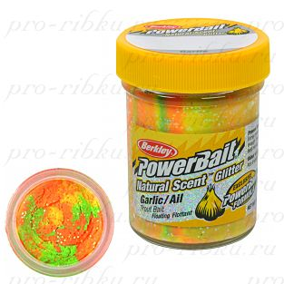 ФОРЕЛЕВАЯ ПАСТА BERKLEY POWERBAIT TROUTBAIT GARLIC/AIL Rainbow (чеснок)