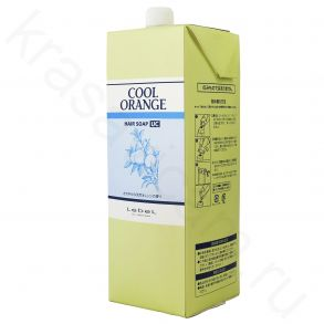 Lebel Cool Orange Hair Soap UC (Ultra Cool) (Refill)