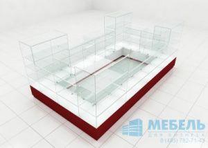 Павильон из стекла для ТЦ