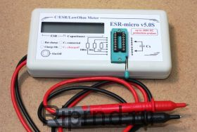 Измеритель ESR-micro