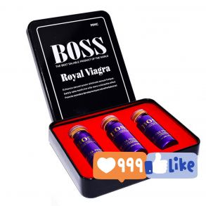 Boss Royal Viagra  3 шт* 10 кап* 6800 мг
