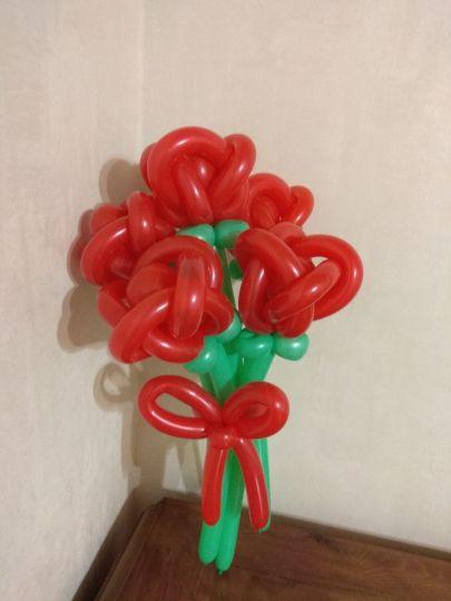 Букет из 5 малых роз