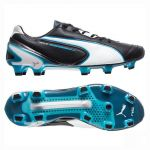 Бутсы Puma King Superlight FG чёрные