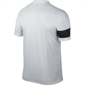 Бело-чёрная игровая футболка Nike Striker III Jersey