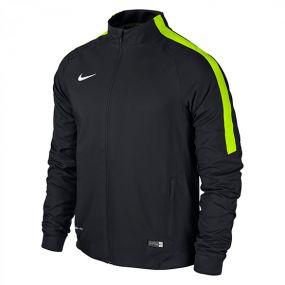 Олимпийка Nike Squad 15 Sideline Woven Jacket чёрная