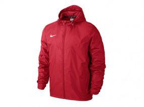 Детская ветровка Nike Team Sideline Rain Jacket Junior красная
