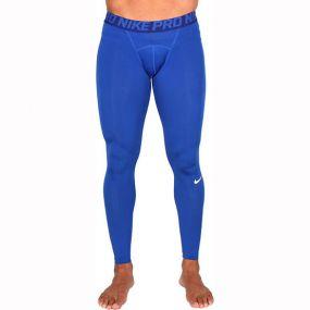 Компрессионные штаны Nike Pro синие