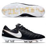 Футбольные бутсы Nike Tiempo Legend VI FG чёрные