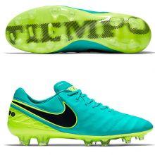 Бутсы Nike Tiempo Legend VI FG бирюзовые