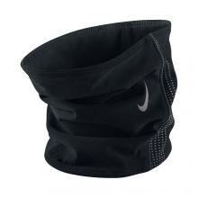 Чёрная флисовая повязка на шею Nike thermal neck warmer