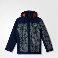 Куртка adidas Boys Snowfun Jacket тёмно-синяя