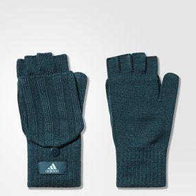 Женские перчатки adidas Women's Essential's Glooves зелёные