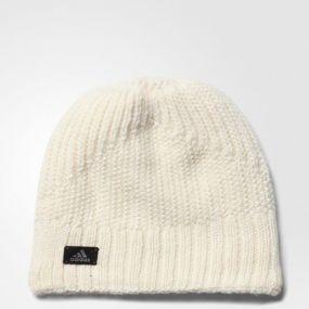 Женская шапка adidas Climaheat Beanie белая
