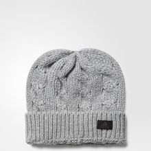 Женская шапка adidas Wool Beanie серая