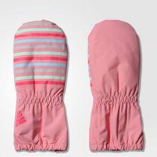 Детские варежки adidas Infinity Mittens Girl's розовые
