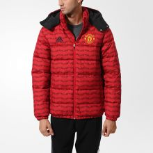 Куртка adidas Manchester United Football Club Jacket красная