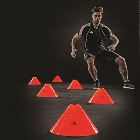 Фишки adidas Jumbo Cones тренировочные оранжевые