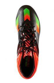 Детские бутсы adidas Messi 15.1 FG/AG Junior чёрные
