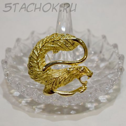 """Брошь """"Китайский дракон"""" (США)"""