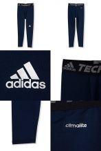 Компрессионные брюки adidas Techfit Base Tights тёмно-синие