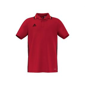 Детская футболка-поло adidas Condivo 16 ClimaLite Polo красная