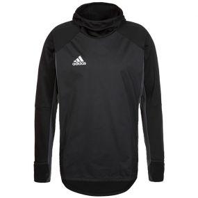 Спортивная кофта adidas Tiro 17 Warm Top чёрная