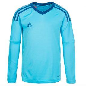 Детский вратарский свитер adidas Revigo 17 Goalkeeper голубой