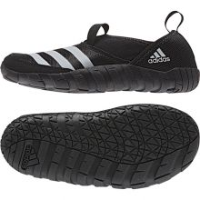 Детские мокасины adidas Jawpaw Kids чёрные