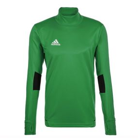 Детская спортивная кофта adidas Tiro 17 Training Top зелёная