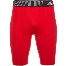 Компрессионные шорты adidas Techfit Base Short Tights 9″ красные