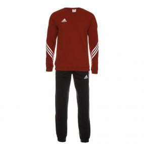 Красный футбольный костюм adidas Sereno 14 Sweat Suit