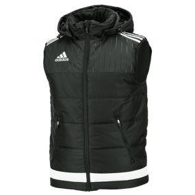 Жилет adidas Tiro 15 Padded Vest чёрный утеплённый