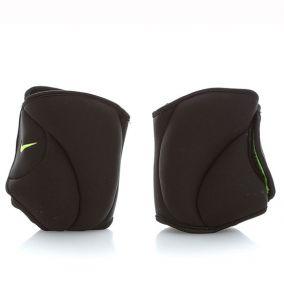 Утяжелители для ног Nike Ankle Weights 2,27 кг чёрно-салатовые