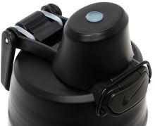 Бутылка Nike core hydro flow graphic 24oz спортивная серая