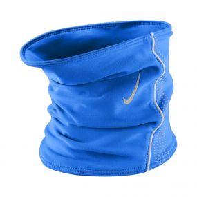Синяя флисовая повязка на шею Nike thermal neck warmer размера S/M