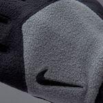 Флисовые перчатки Nike Sport Fleece чёрно-серые