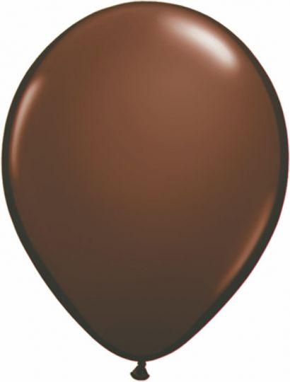 МИНИ шар коричневый маленького размера с гелием