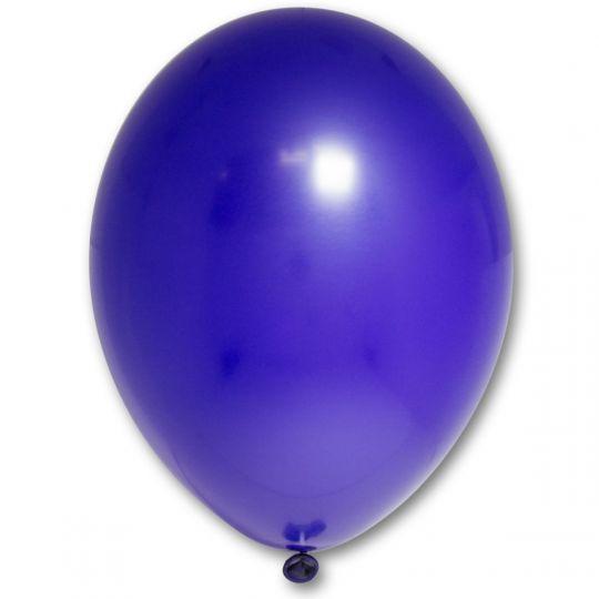 МИНИ шар темно-синий маленького размера с гелием
