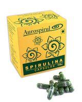 Спирулина в капсулах Ауроспируль Ауровиль | Aurospirul Spirulina Capsules