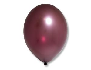МИНИ шар бургундия металлик маленького размера с гелием