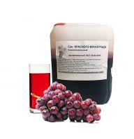 Концентрированный виноградный красный сок, 5 кг