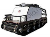Мотобуксировщик БТС-1 Long 500/15 3 А (36 Вт) двигатель 15 л.с., 4-х катковая подвеска, передний привод, ширина гусеница 500 мм.
