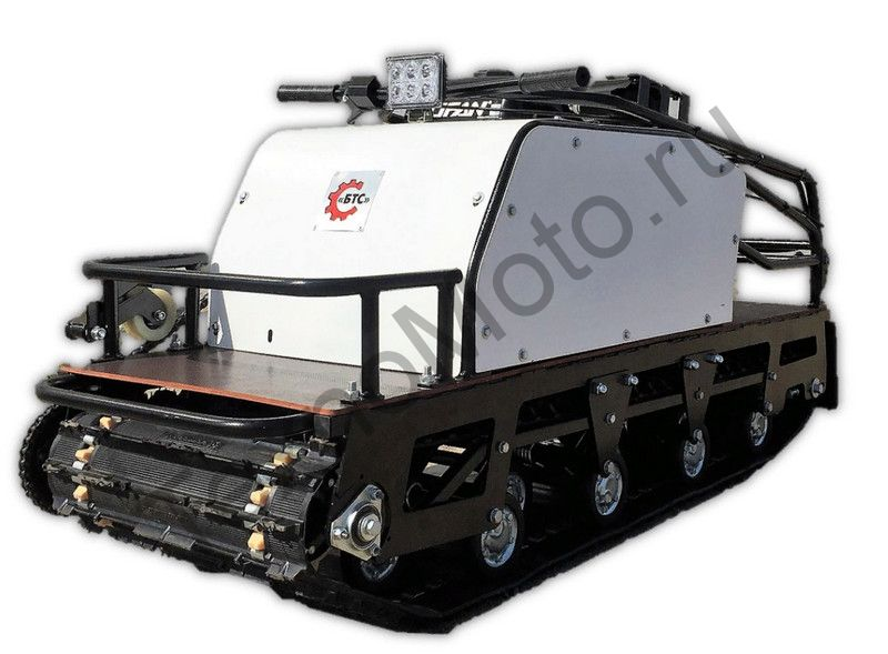Мотобуксировщик БТС-1 Long 500/15 18 А (216 Вт)