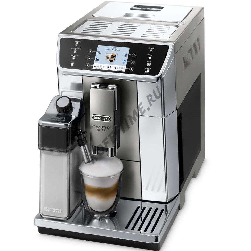 Кофемашина DeLonghi ECAM 650.55 MS Primadonna Elite