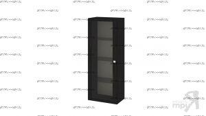 Шкаф-надстройка 1-дверный Фиджи ШН(11)_32_18 (54х37х140)