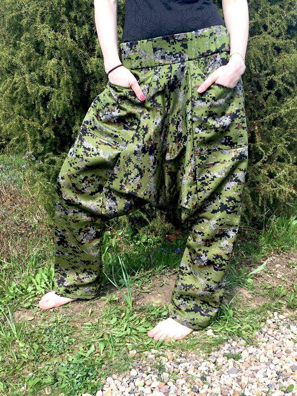 Зелёные камуфляжные афгани, размер 42-46, рост 160-175, демисезон (Москва)