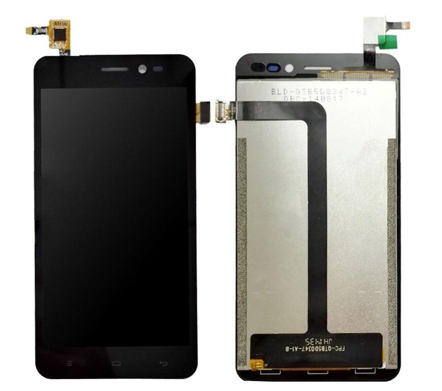 LCD (Дисплей) Explay Pulsar (в сборе с тачскрином) (black) Оригинал