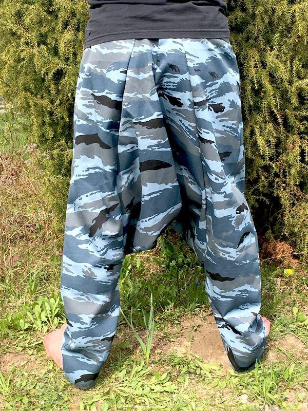 Синие унисекс афгани, демисезон, на рост от 170 см (Москва)