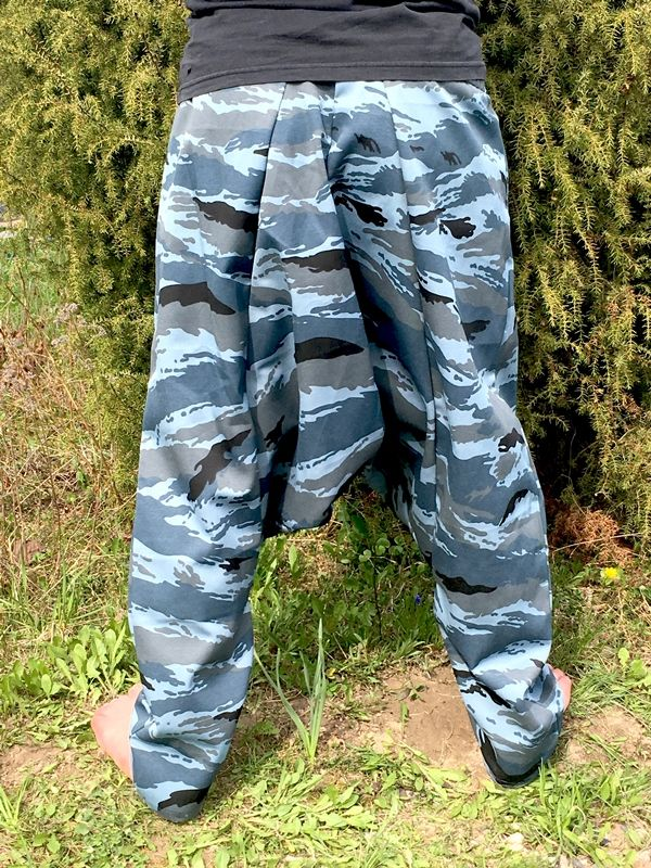 Синие унисекс афгани, демисезон, рост от 170 см (СПб)